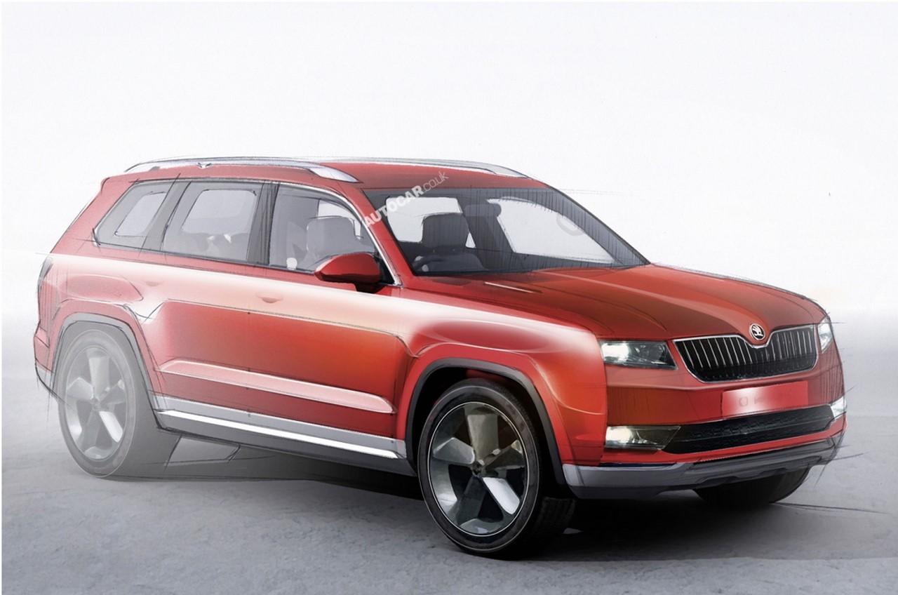 Skoda : un SUV 7 places attendu en 2016