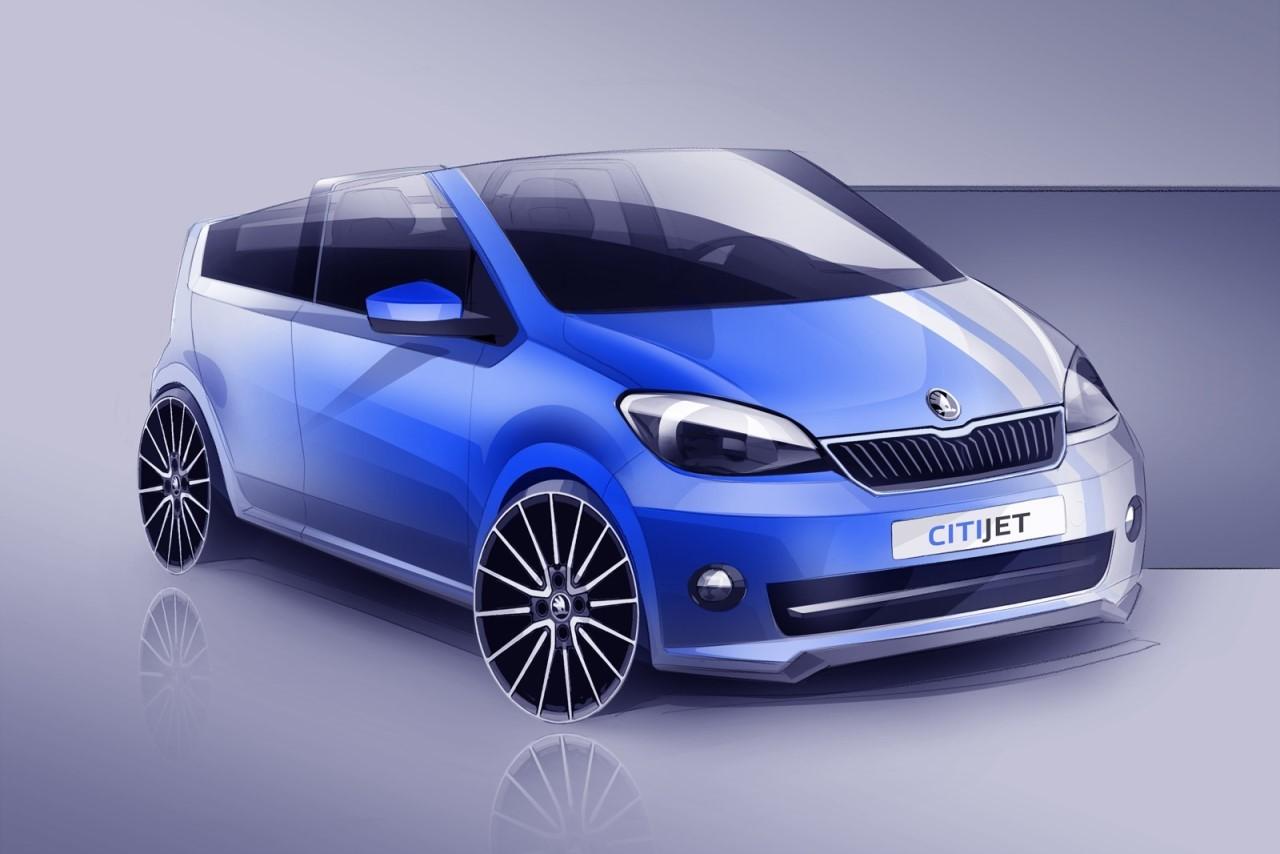 Skoda CitiJet Concept : la Citigo cabriolet prête pour Wörthersee