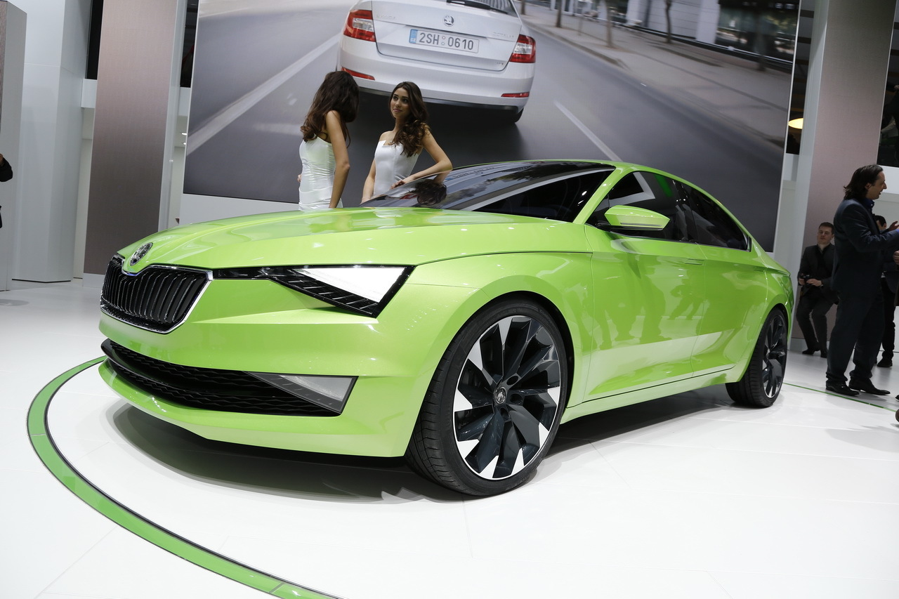 Skoda Vision C, l'Audi A5 Sportback à la sauce tchèque