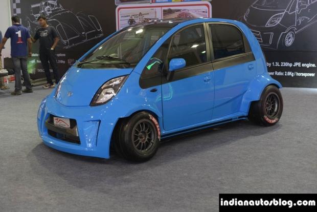 News Auto Insolite Une Tata Nano Poussee A 230 Chevaux