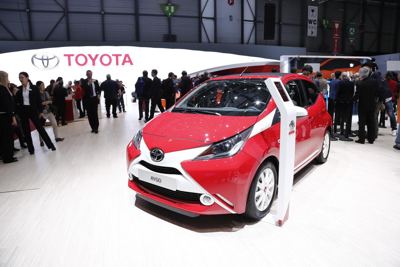 Nouvelle Toyota Aygo : les photos sur le salon de Genève