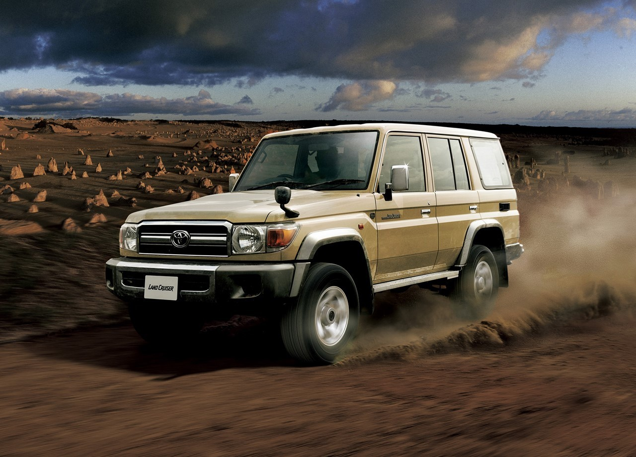 Toyota relance son Land Cruiser série 70 au Japon