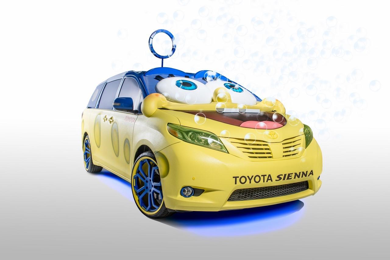 Toyota a créé la voiture de Bob l'éponge