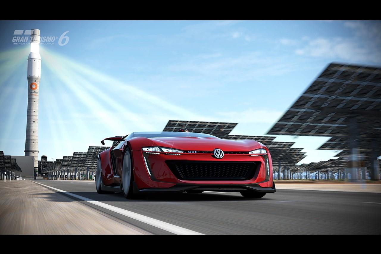 Volkswagen GTI Roadster Vision Gran Turismo : pour de faux, pour de vrai