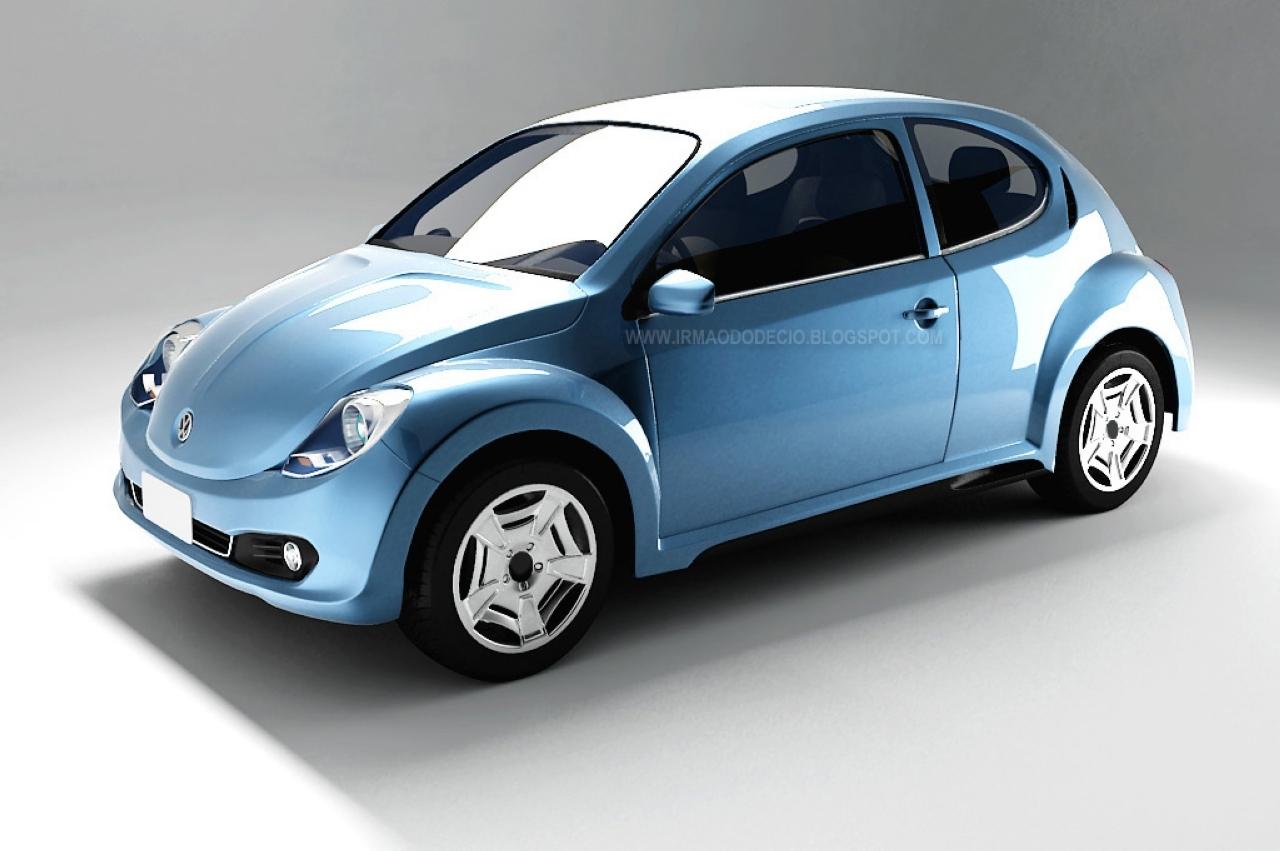 Un étudiant brésilien imagine la future New Beetle