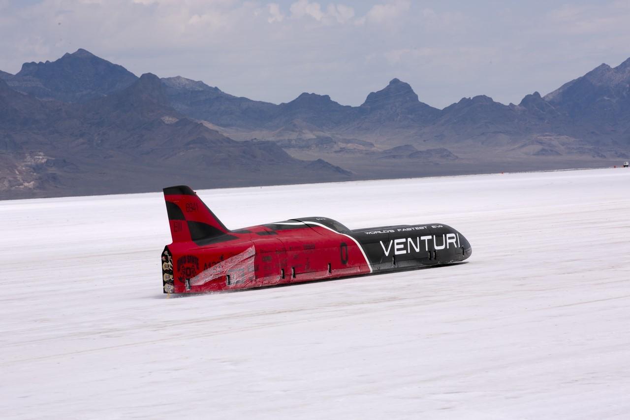 Record du monde de vitesse électrique : Venturi pas verni
