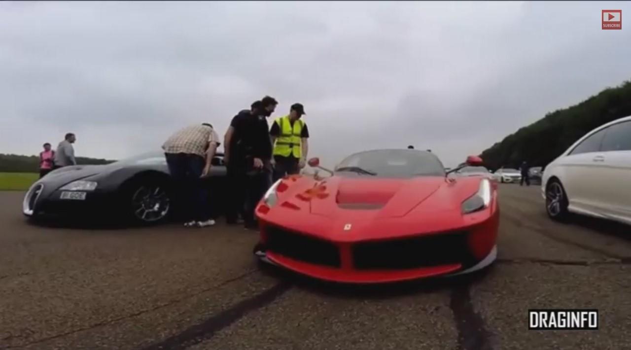 Ferrari LaFerrari vs Bugatti Veyron : faites vos jeux !