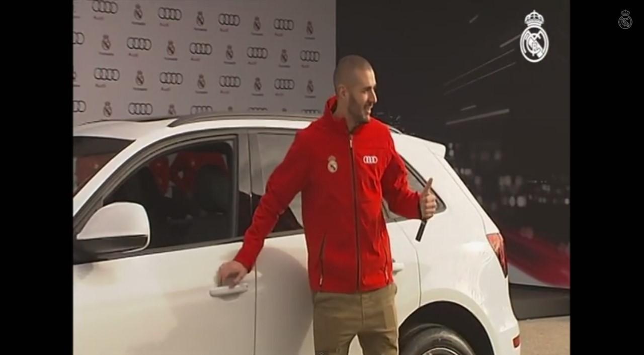 Vidéo : les joueurs du Real Madrid prennent possession de leur Audi