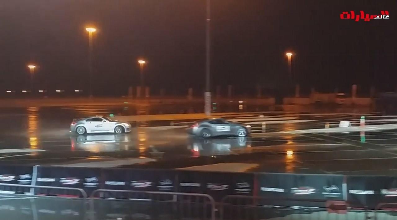 Vidéo : record de drift en duo pour des Nissan 350Z et 370Z