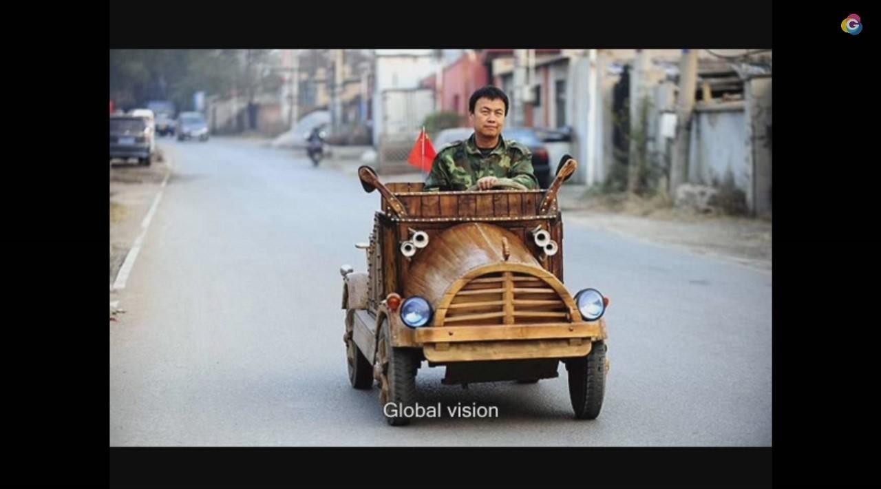 Insolite : la voiture électrique « fait-maison » made in China