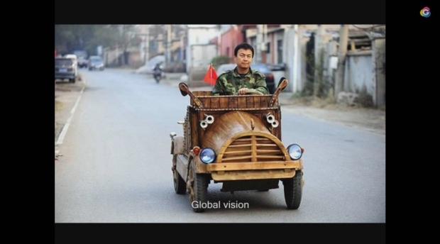 news auto insolite la voiture lectrique fait maison made in china 321auto. Black Bedroom Furniture Sets. Home Design Ideas