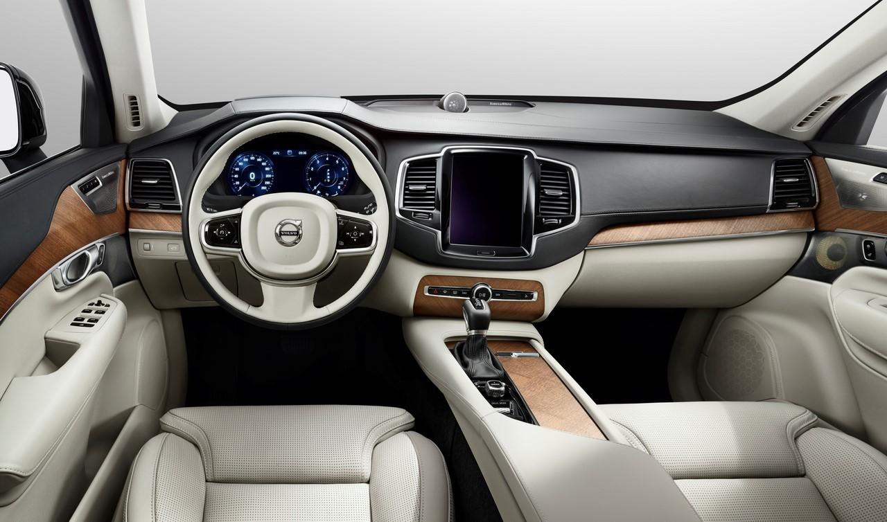 Volvo dévoile l'intérieur de son nouveau XC90