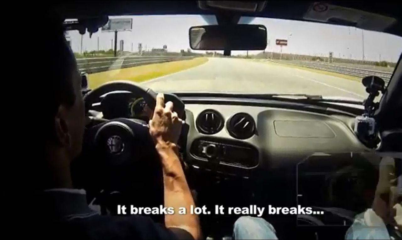VIDEO : Marc Gené au volant de l'Alfa Romeo 4C