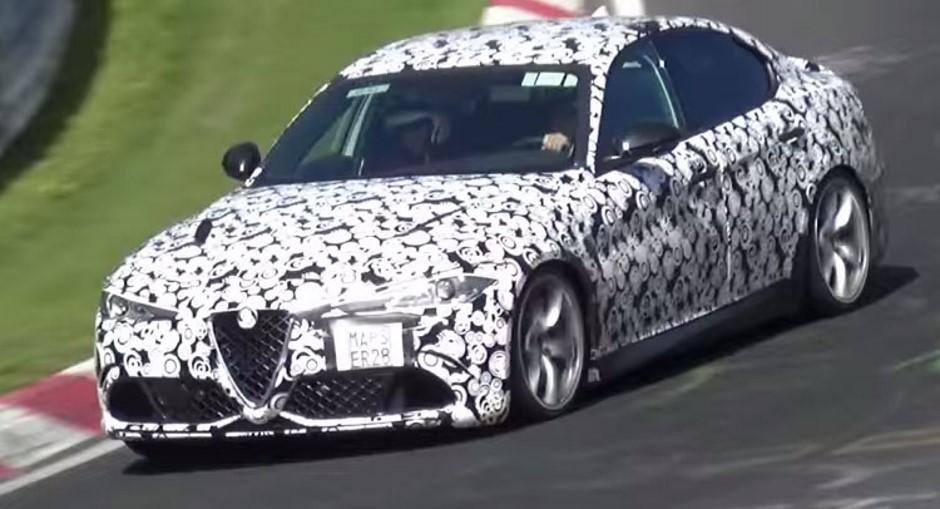 L'Alfa Romeo Giulia QV en 7 min 43 sur le Nürburgring ?