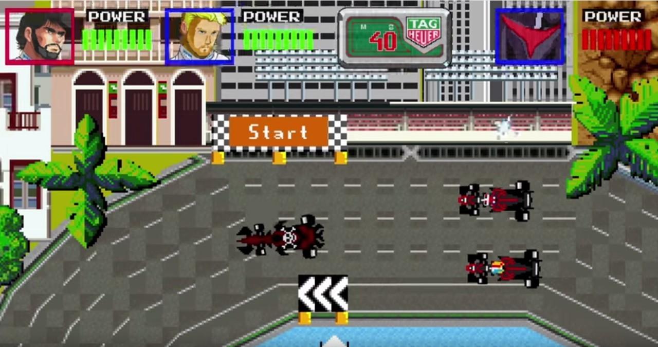 Vidéo : Fernando Alonso et Jenson Button héros d'un jeu vidéo