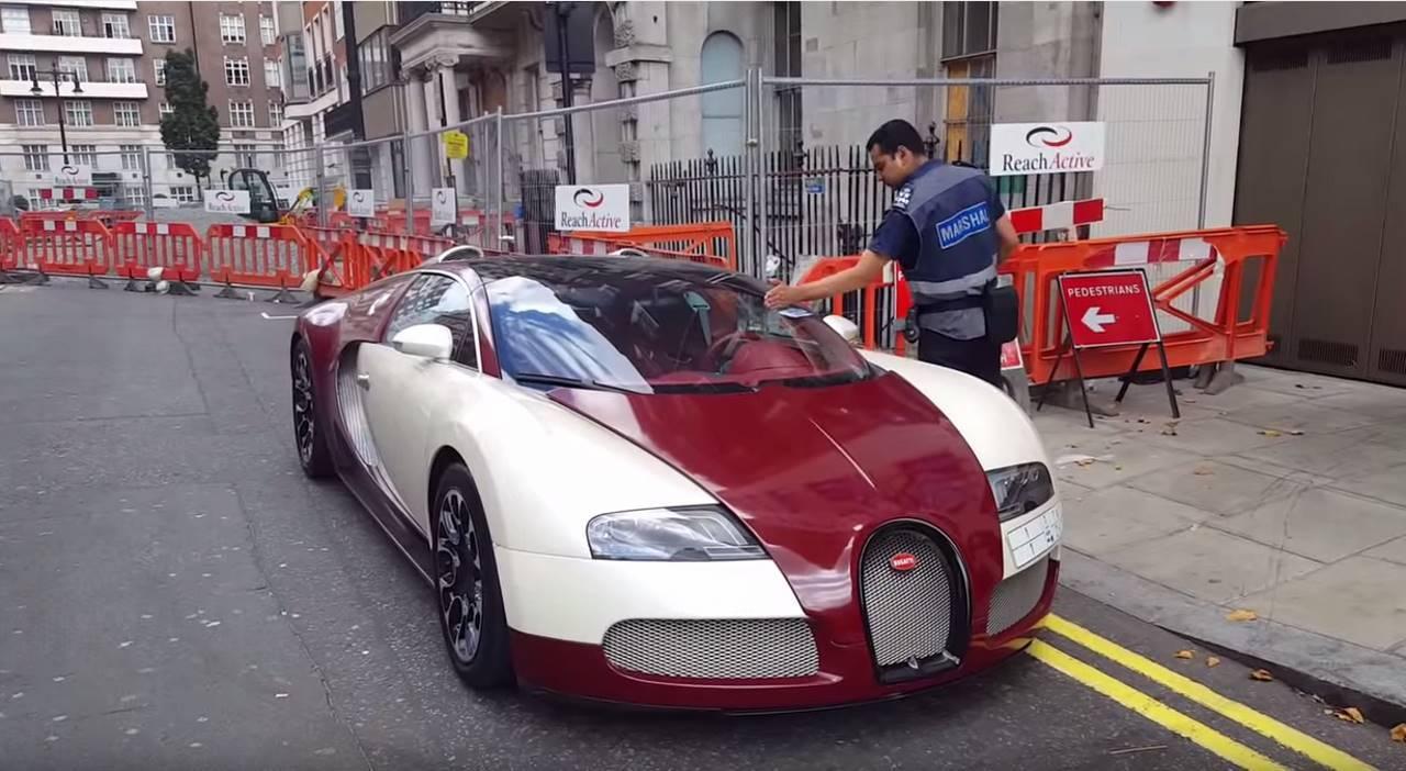 Vidéo : une magnifique Bugatti Veyron n'échappe pas à la verbalisation