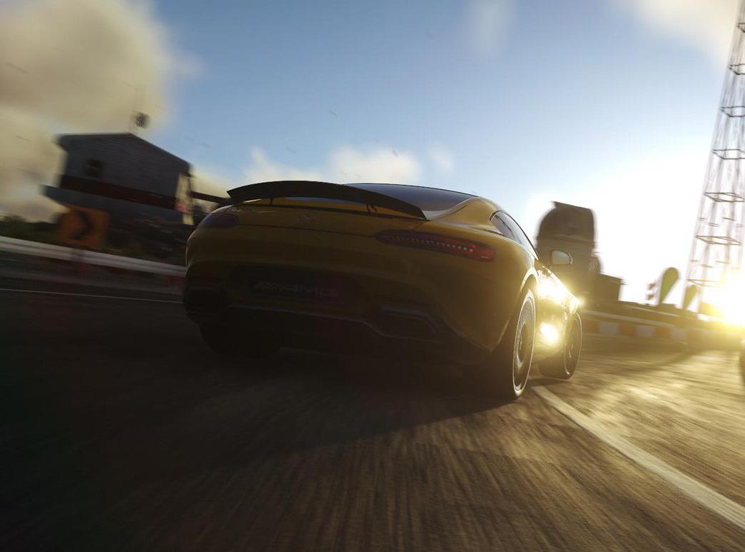 La Mercedes-AMG GT partiellement révélée dans le jeu vidéo DriveClub