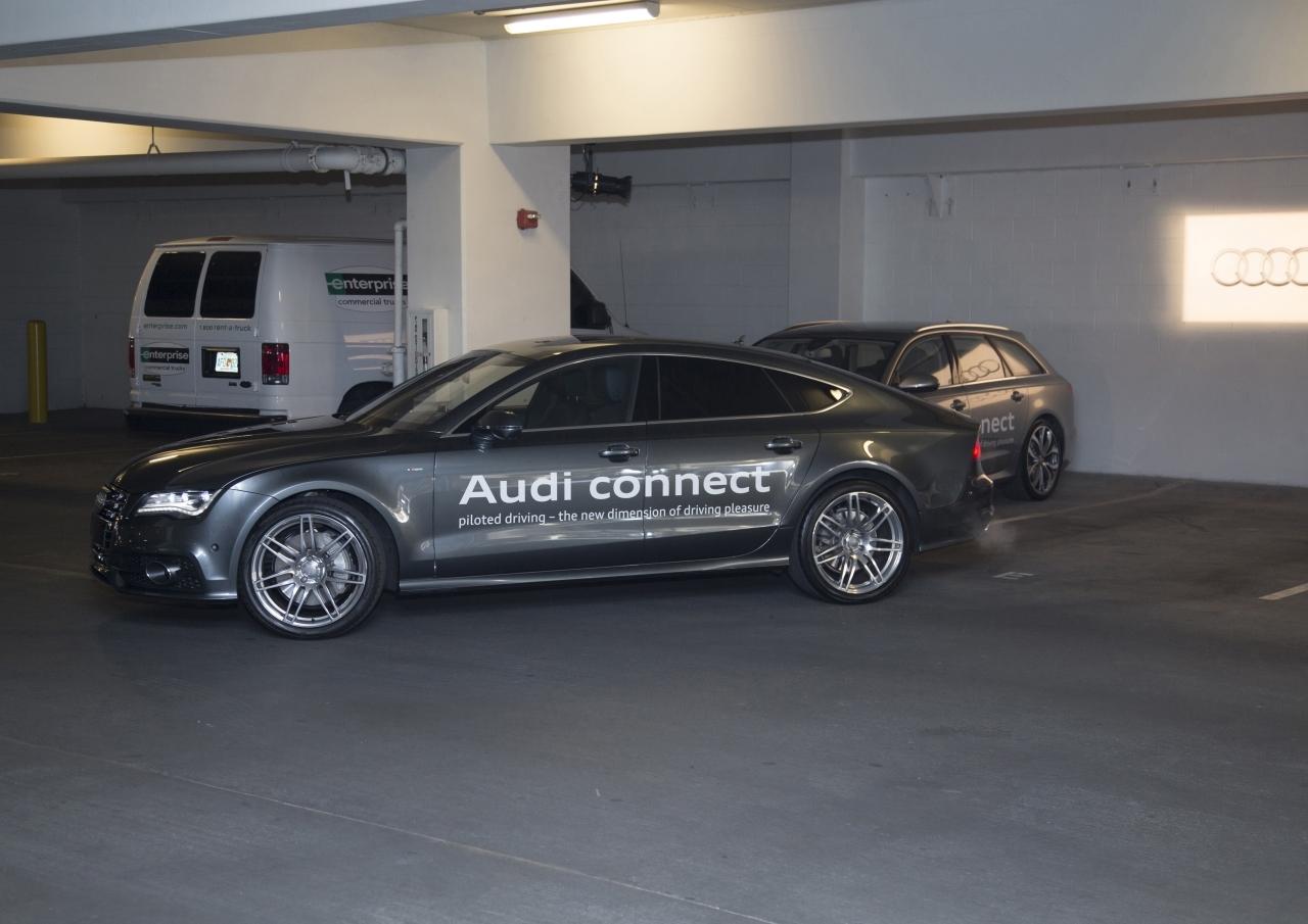 Audi invente la voiture qui se gare vraiment toute seule