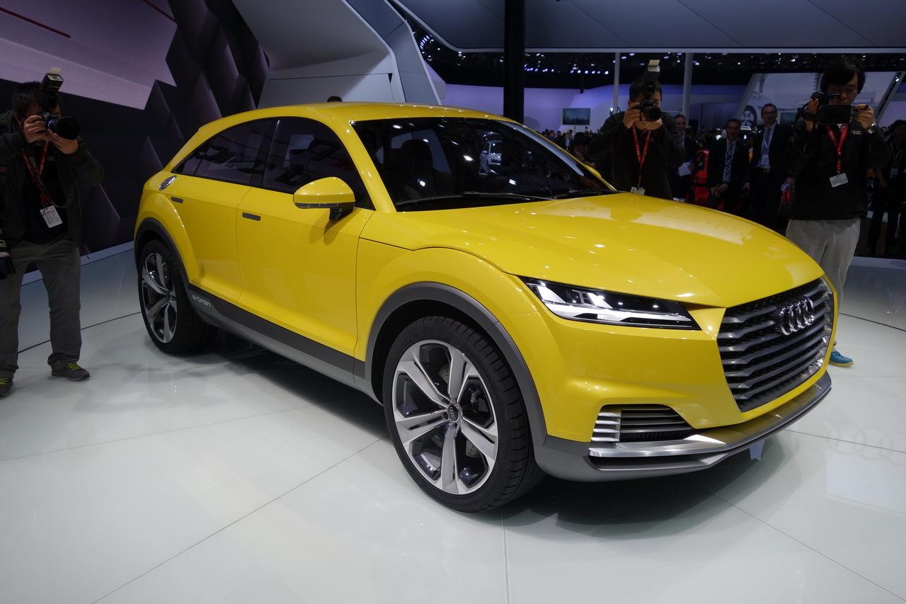 Audi TT offroad concept : le TT se fait baroudeur