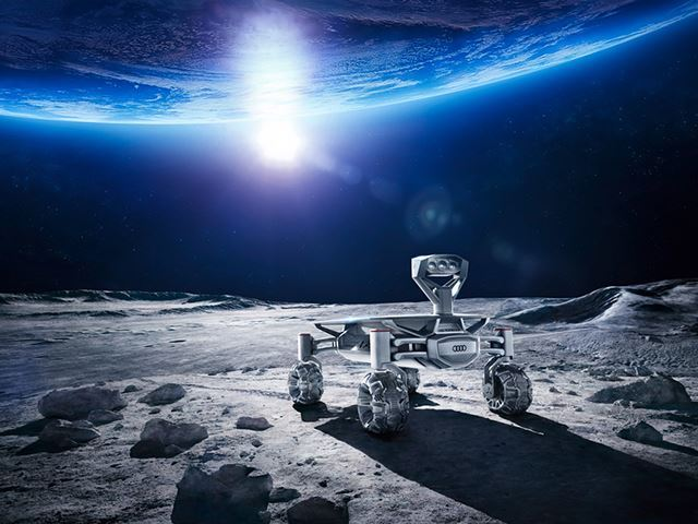 Audi vise la Lune
