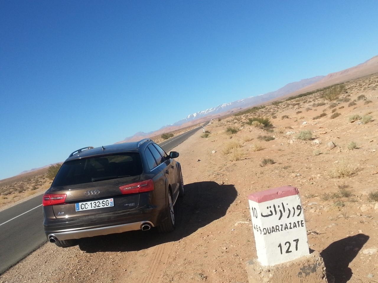 Audi lâche les chevaux au Maroc