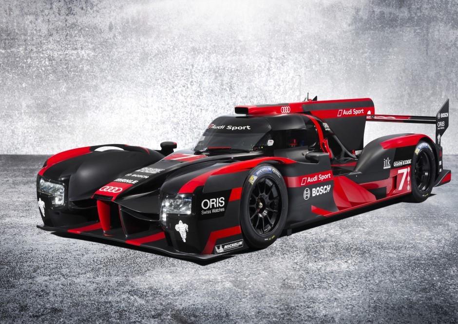 WEC : Audi dévoile sa R18 des 24H du Mans 2016