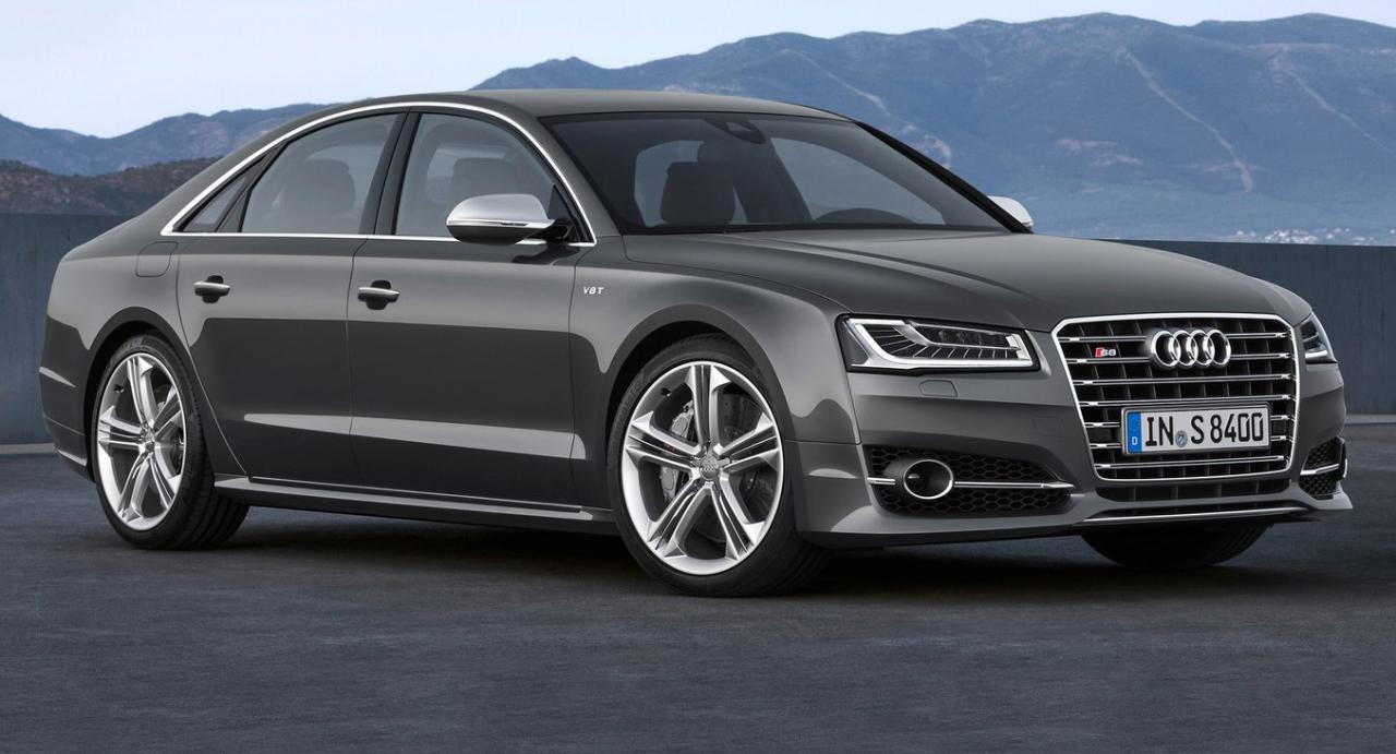 Audi prépare une A8 e-tron