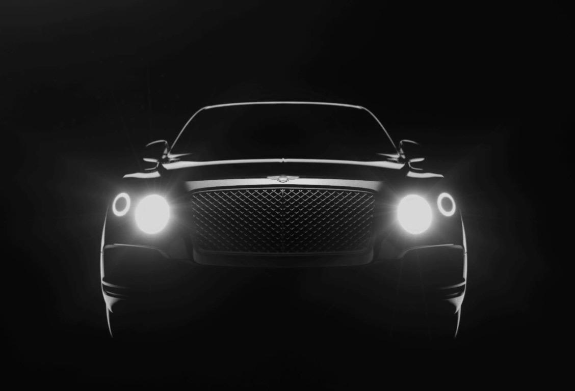 Le SUV Bentley fait une première apparition