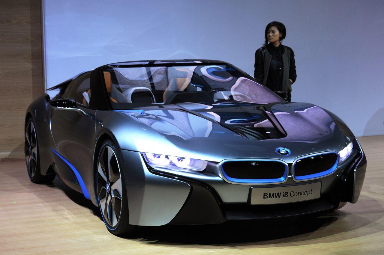 La BMW i8 de série ne sera pas au salon de Francfort