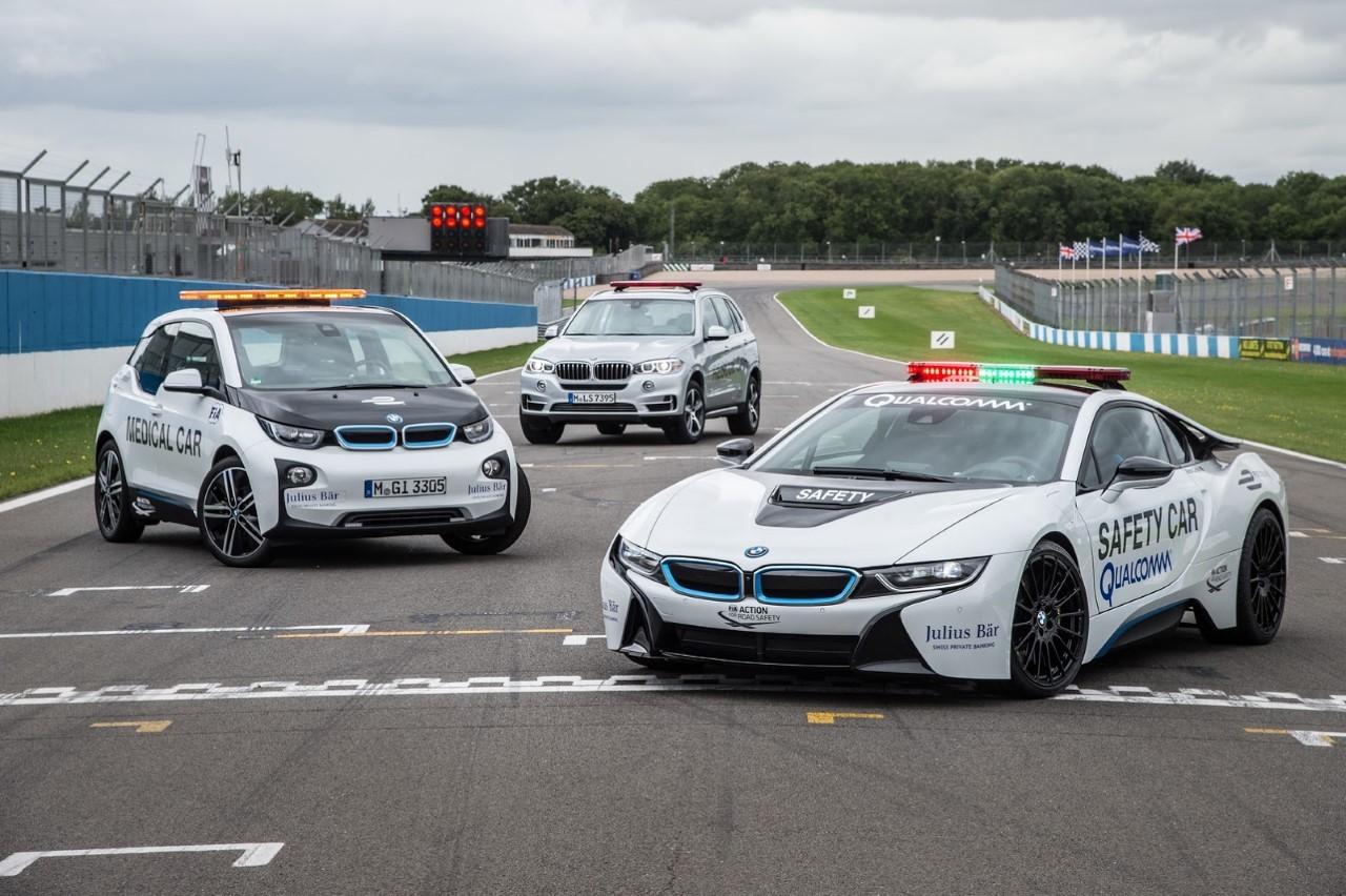 Formule E : BMW rempile avec ses safety cars électriques