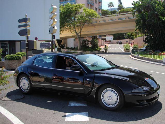 Une Bugatti extrêmement rare aperçue à Monaco