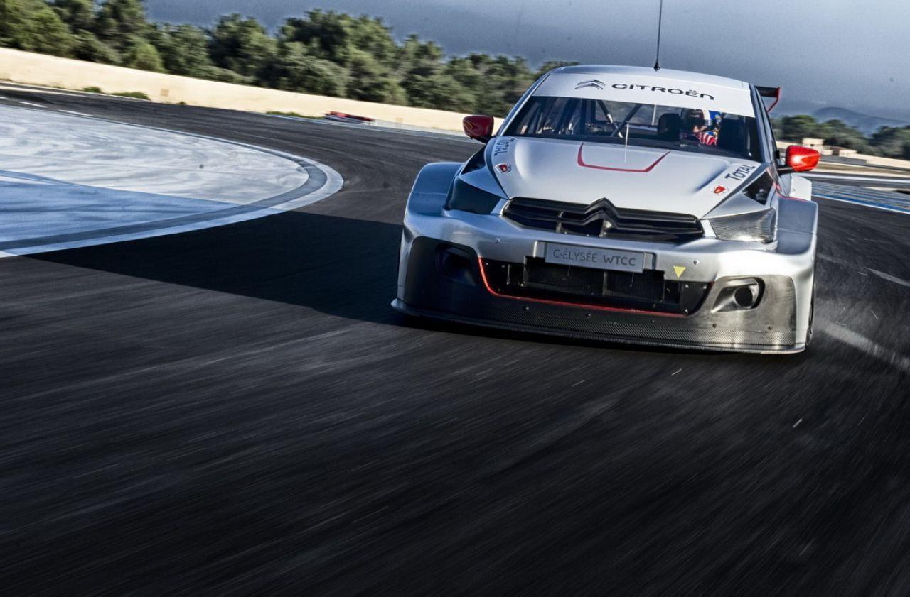 VIDEO : Sébastien Loeb et Yvan Muller découvrent la Citroën C-Elysée WTCC
