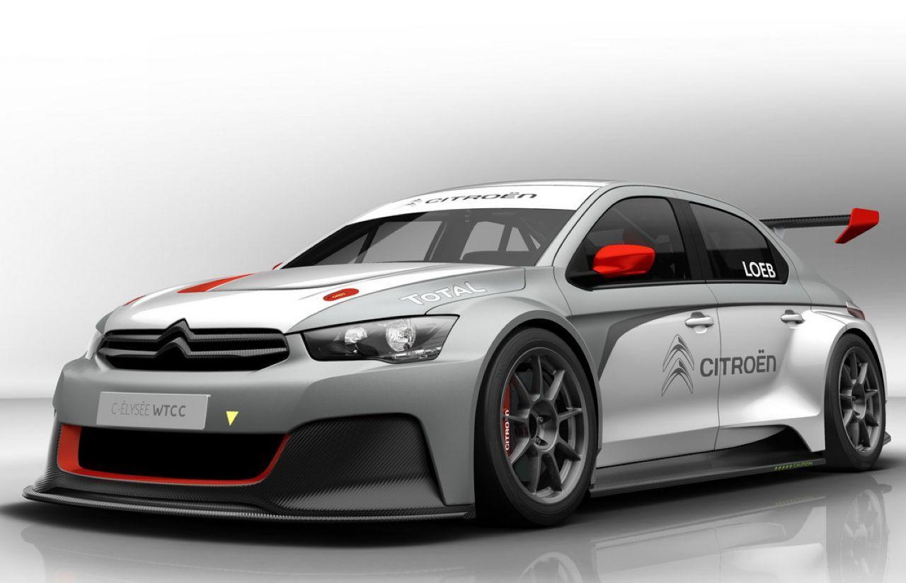 WTCC 2014 : Citroën dévoile la C-Elysée WTCC
