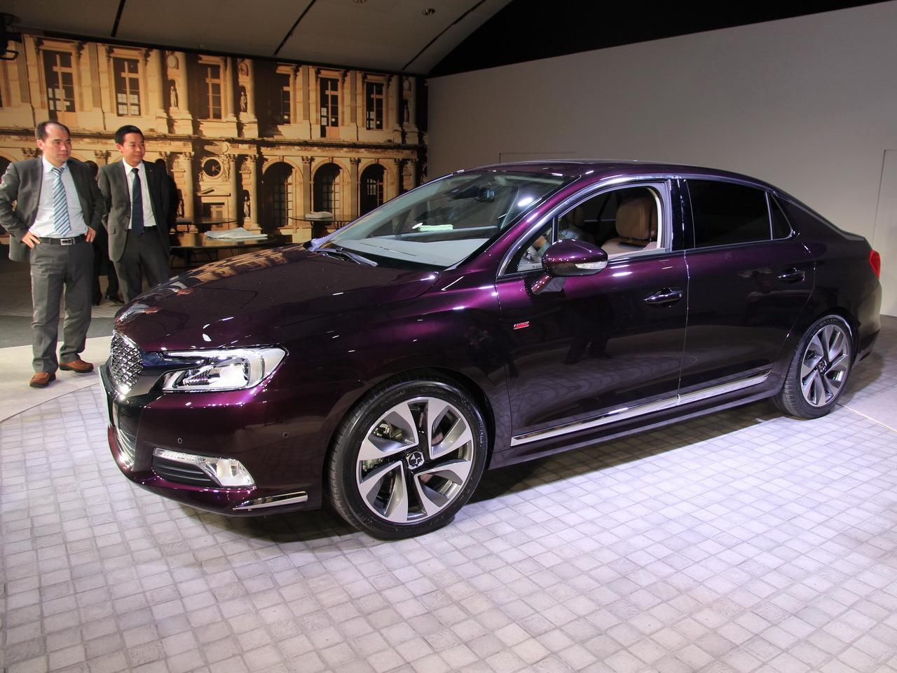 Citroën DS 5LS (2014) : une grande berline pour la Chine