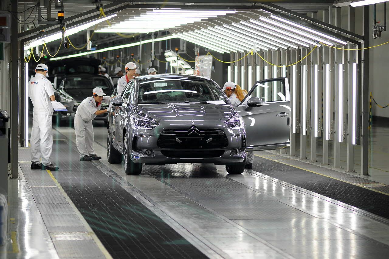 Citroën débute la commercialisation de la DS5 Made in China