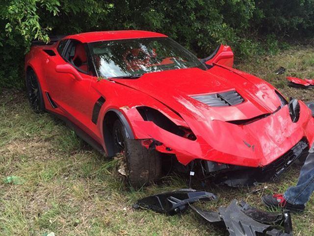 L'exemple à ne pas suivre avec une Corvette Z06