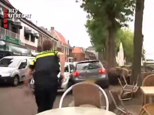 Course-poursuite de dingue aux Pays-Bas