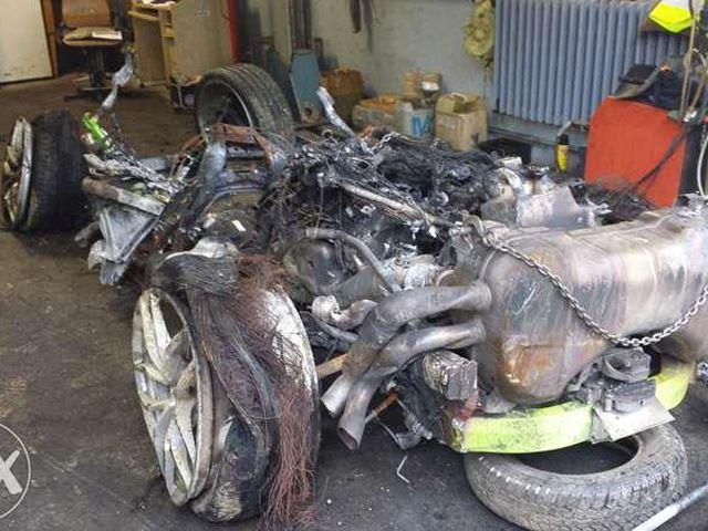 6 200 euros la Lamborghini Huracan...en miettes