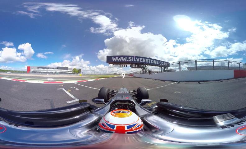 Vidéo 360 : les images du duel F1 vs McLaren 650s