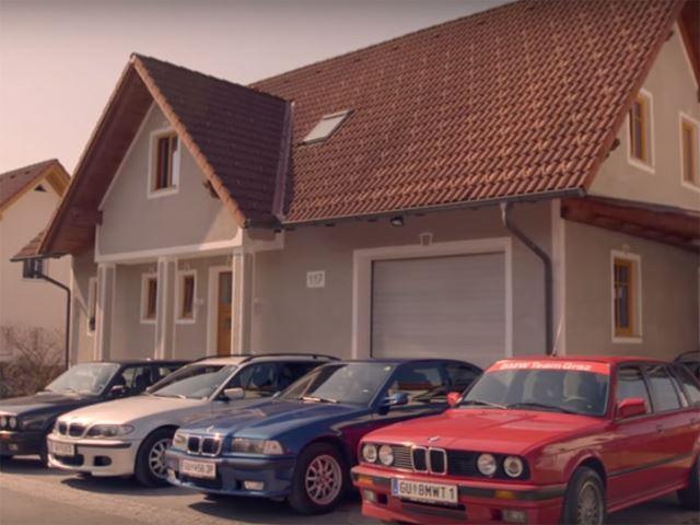 Une famille un peu trop fan de BMW
