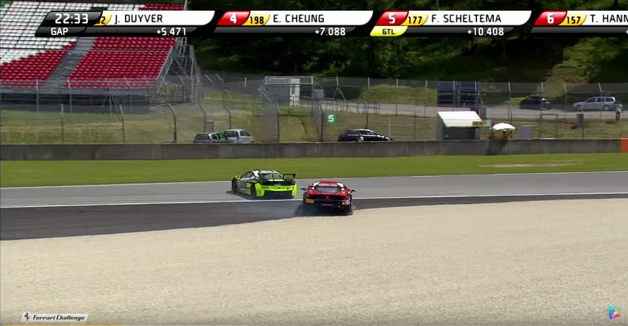 Vidéo : Ferrari Challenge, le pire des gentlemen drivers