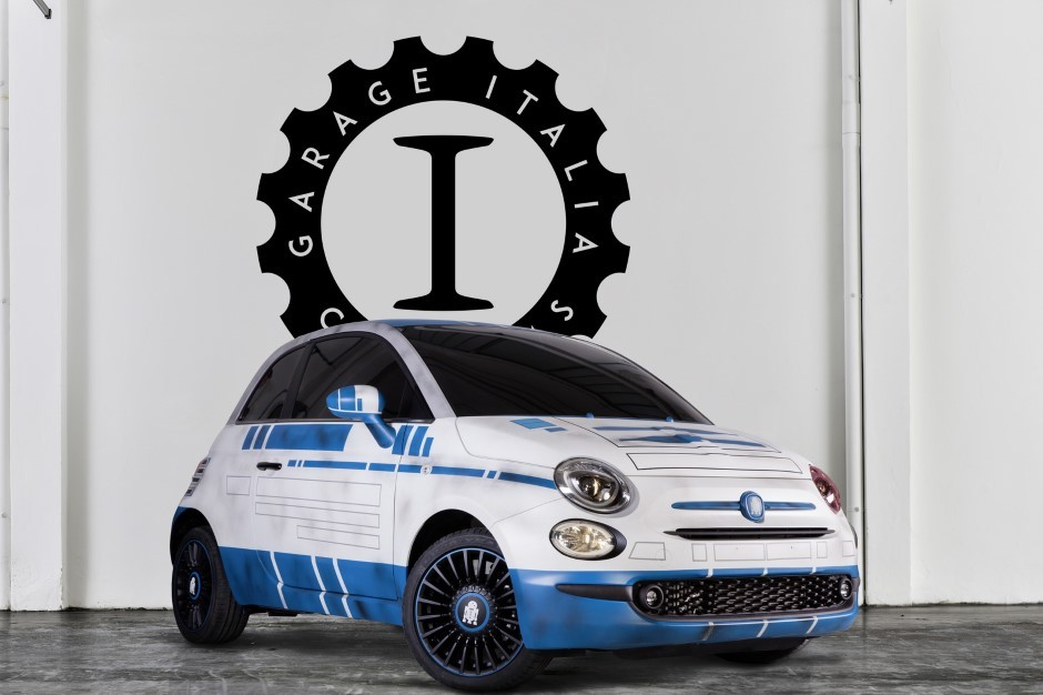 Star Wars : la Fiat 500 en versions R2-D2 et BB-8