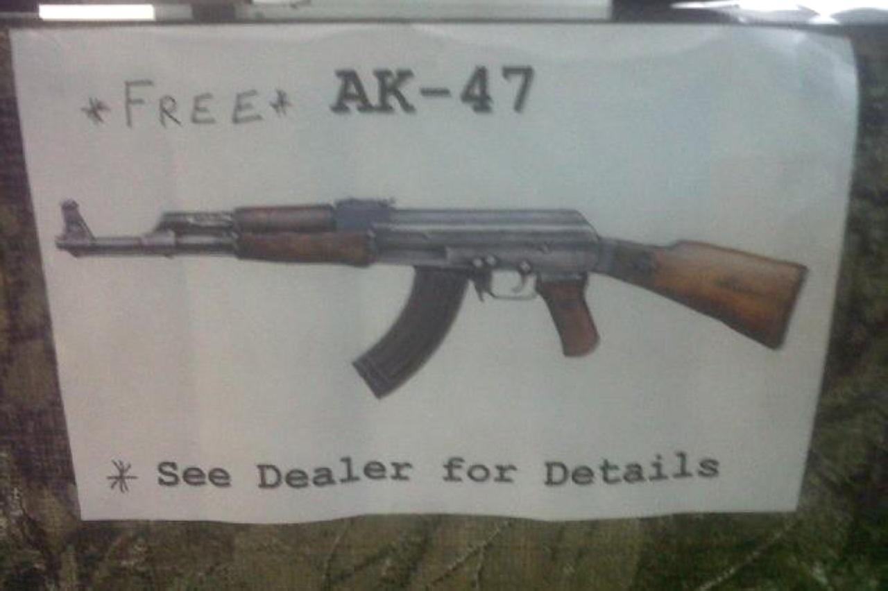 Achetez un SUV, repartez armé !