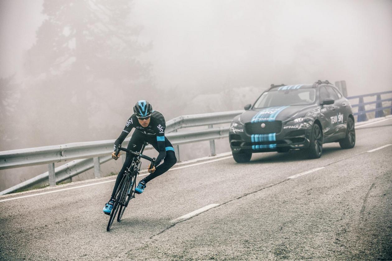 Le Jaguar F-Pace va faire une apparition au Tour de France