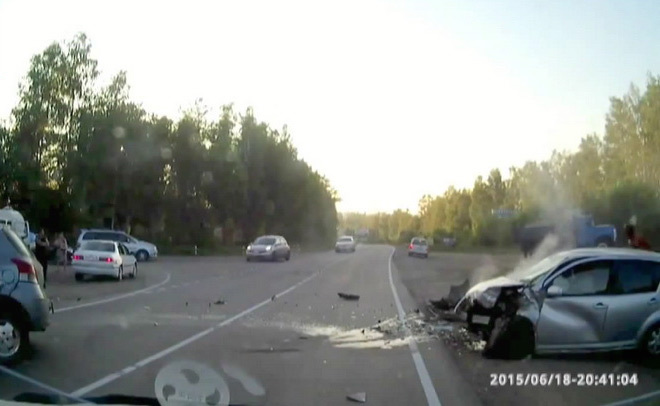 Vidéo : pris en flagrant délit de fuite
