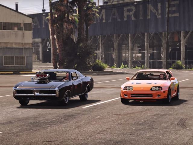 Quand Fast and Furious s'invite dans GTA 5