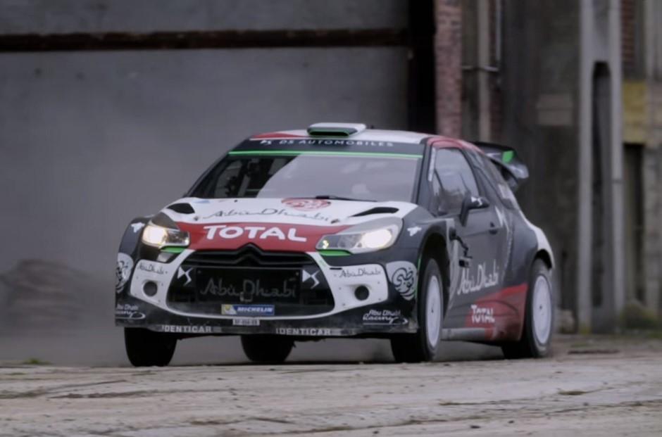 Vidéo : le gymkhana de Sébastien Loeb