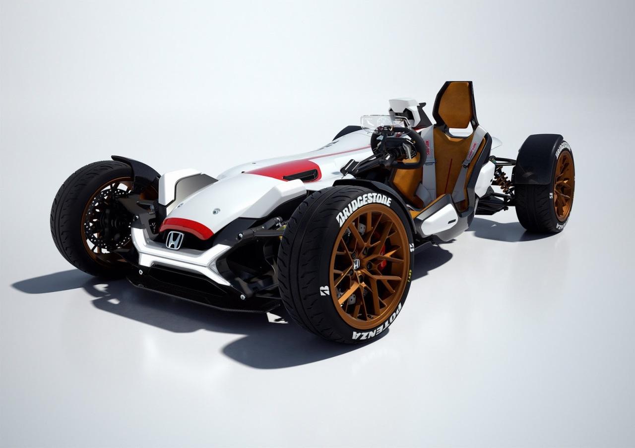 Honda Project 2&4 : le jouet de l'année !