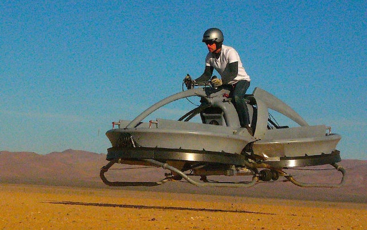 Hover Bike : la première moto volante !