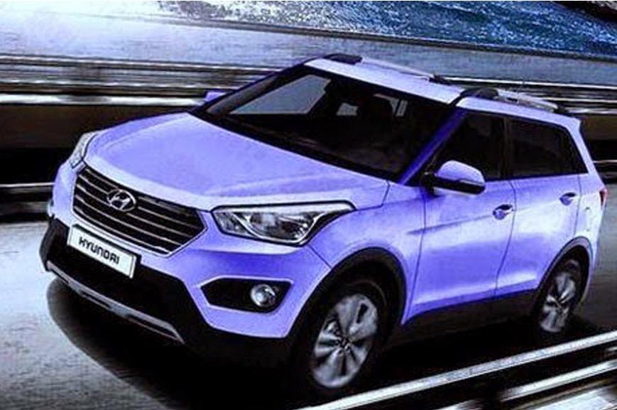 Hyundai ix25 : les premières images